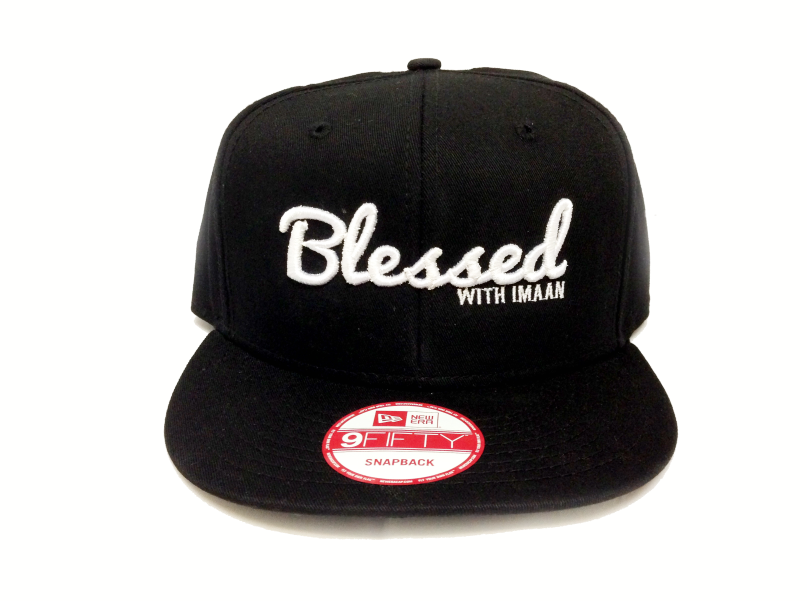 Blessed with Imaan Snapback  152dc1a425bf