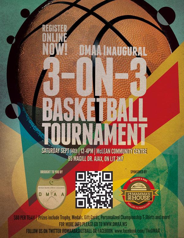 1st Annual DMAA Big Mommas House 3 On Basketball Tournament